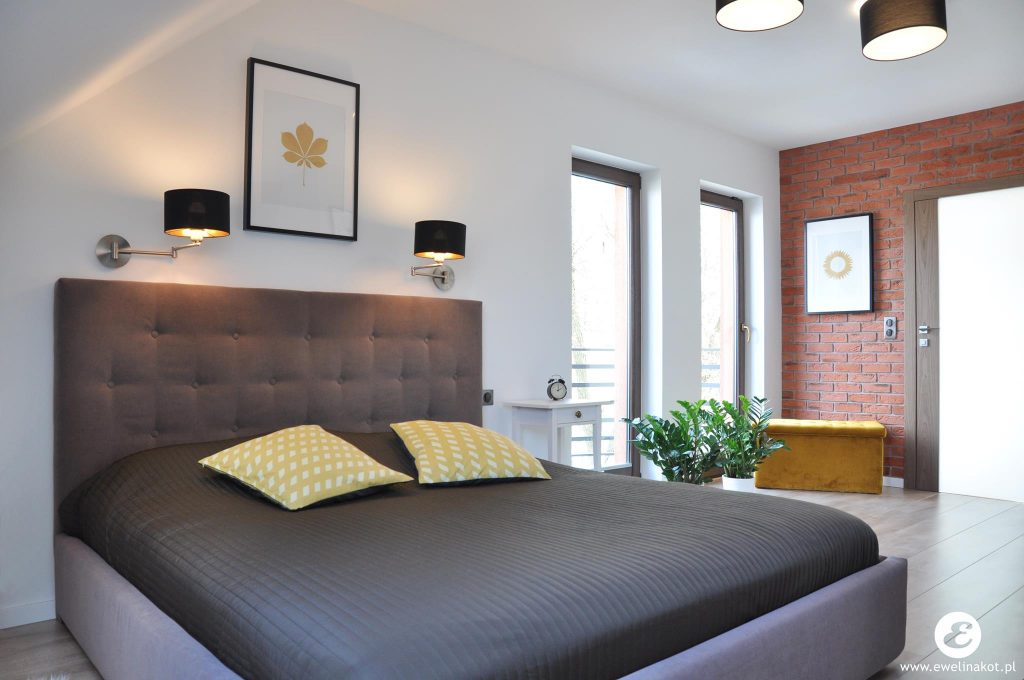 2 sypialnia na poddaszu dom EM